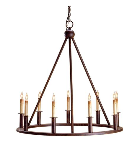 fiona wrought iron circular 9 light chandelier kathy kuo home