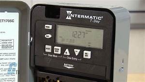 Intermatic Et1700 Series Time Switch  Timing Relay