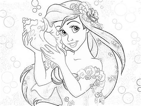 disney princess coloring page disney princesses coloring pages ariel coloring home
