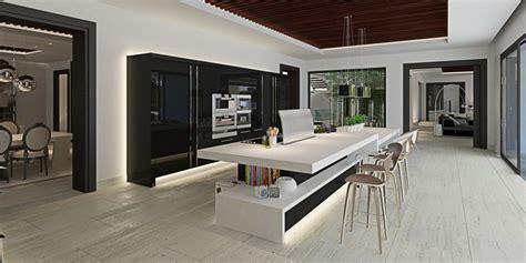 cuisine villa luxueuse villa par ark architects san roque espagne