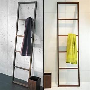 Porte Serviette Echelle Bois : echelle porte serviettes wood ~ Teatrodelosmanantiales.com Idées de Décoration