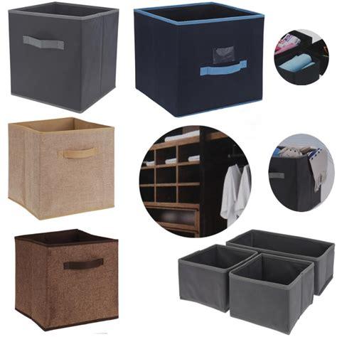 Aufbewahrungsbox Kleiderschrank by Ls Aufbewahrungsbox Stoffbox Faltbox Korb Box Einschubkorb