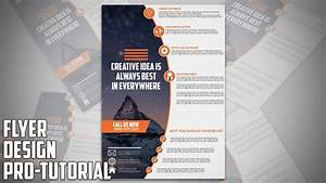 Create Business Flyer How To Design Professional Business Flyer In Adobe