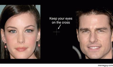 face swap optical illusion interestingasfuck