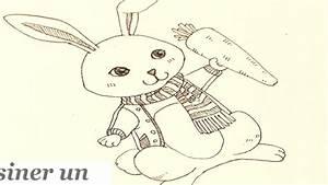 Lapin Facile A Dessiner : dessiner un lapin facile galerie d images ment dessiner un ~ Carolinahurricanesstore.com Idées de Décoration
