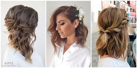 Wedding For Medium Hair : 24 Lovely Medium-length Hairstyles For 2019 Weddings