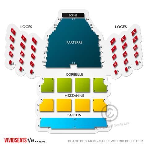 siege front national place des arts salle wilfrid pelletier seating chart