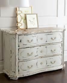 devino chest white distressed contemporary dressers