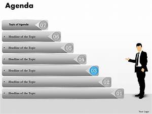 7 Staged Agenda Process Ladder Diagram 0214