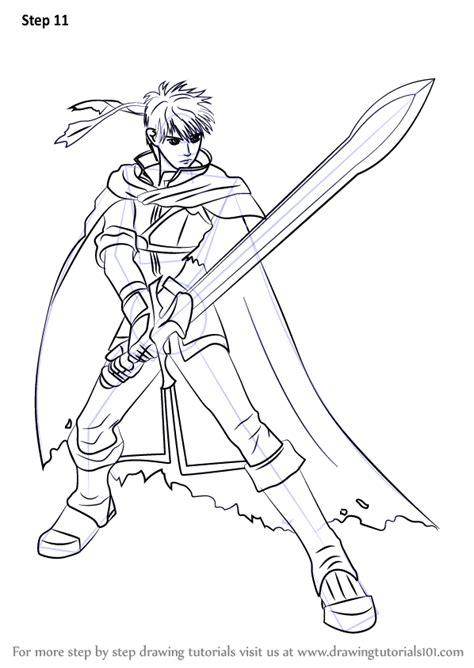 learn   draw ike  super smash bros super smash