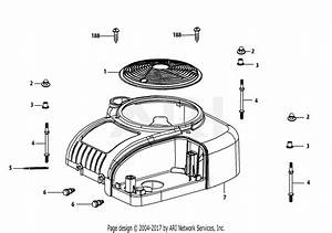 Mtd 4p90hu Engine Parts Diagram For 4p90hu Engine Shroud