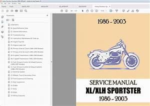 1986-2007 Harley Davidson Sportster Workshop Service Repair Manual