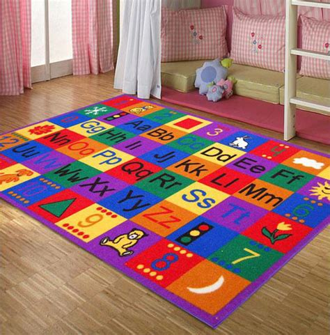 15 Kid's Area Rugs For More Enjoyable Playtime Home