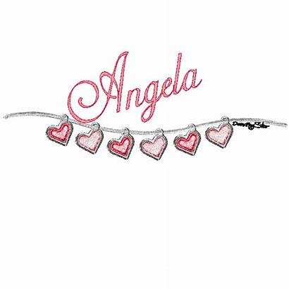 Angela Glitter Clipart Graphics Names Wallpapers Quotes