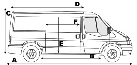ford transit dimensions ford transit mk7 specifications transit center all parts for ford transit