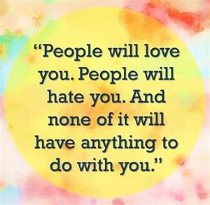 People Who Hate You Quotes. QuotesGram