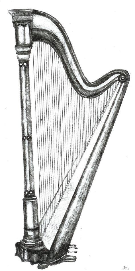 what is a l harp pencil drawings harp pencil drawing artwork musical