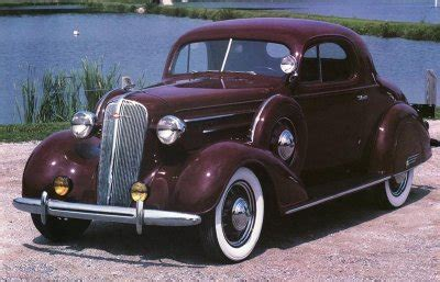1936 Chevrolet Standard And Master Deluxe Photos