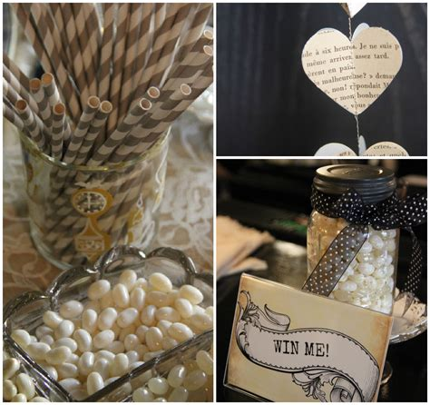 country wedding shower vintage inspired bridal shower rustic wedding chic