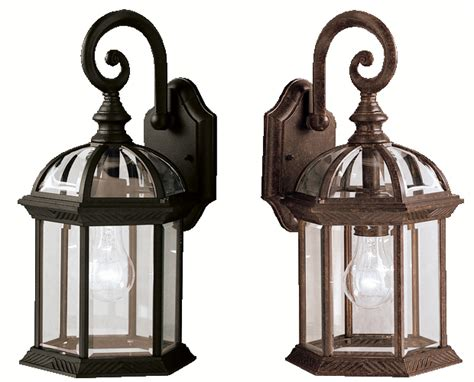 outdoor light fixtures with a vintage look edison bulbs