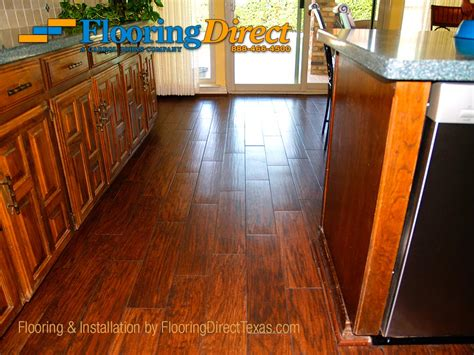 kitchen wood tile floor wood look tile 5 99 per square foot flooring direct 6571