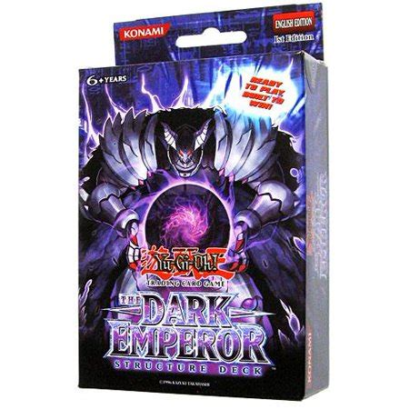 The Dark Emperor Structure Deck 1st Edition Yugioh