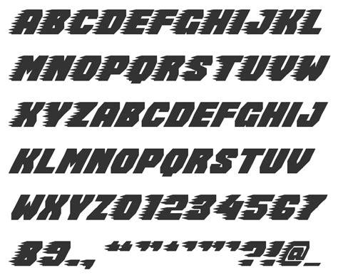 8 Best Images Of Racing Alphabet Typography