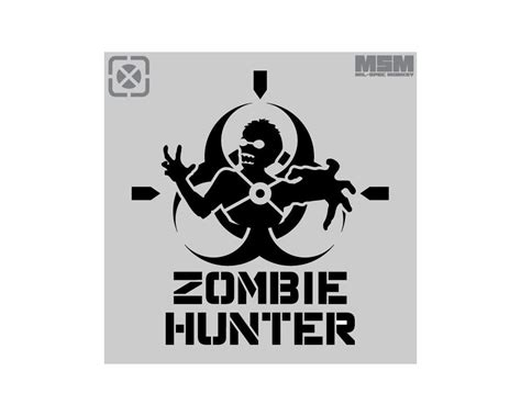 zombie hunter stencil mil spec monkey store