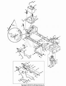 Mtd 13rn772g029  2008  Parts Diagram For Pto