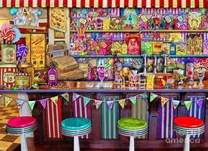 Candy Shop Digital Art by Aimee Stewart