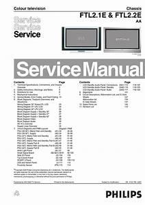 Manual De Servi U00e7o Televisores Philips Com Os Chassis Flt2 1e E Flt2 2e