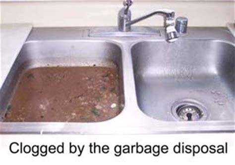 clogged kitchen sink drain  garbage disposal wow blog