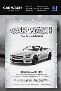 car flyer car flyer monthly status report template word With car wash poster template free