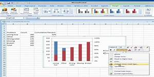 Pareto Analysis Using Microsoft Excel 2007