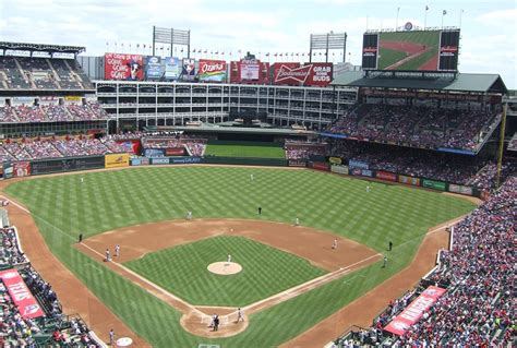 Upper Deck 1992 by Globe Life Park Texas Rangers Ballpark Ballparks Of