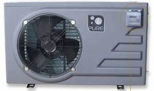 Pompe à chaleur PURE PAC 13 kw pour piscine de 35 à 70m3
