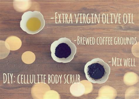 Get glowing skin with these coffee scrub benefits. DIY: Cellulite Body Scrub   Hansen & Heidelberg : DIY: Cellulite Body Scrub
