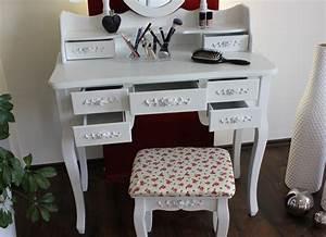 Schminktisch Hocker Ikea : xxl schminktisch inkl hocker spiegel frisiertisch ~ A.2002-acura-tl-radio.info Haus und Dekorationen