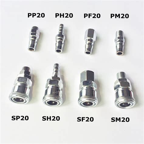 coupler ph 20 pneumatic fitting c type connector high pressure