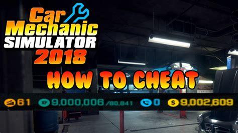 car mechanic simulator 2018 cheat engine