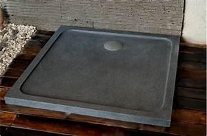Bac Douche A Poser : receveur de douche squarium 100x100cm en pierre v ritable ~ Zukunftsfamilie.com Idées de Décoration