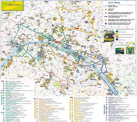 paris top tourist attractions map lopen  double