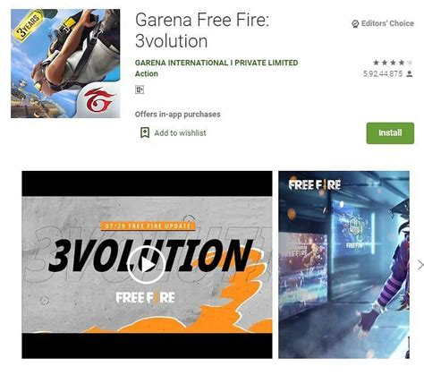 Free fire is the ultimate survival shooter game available on mobile. How to download Free Fire 3volution app