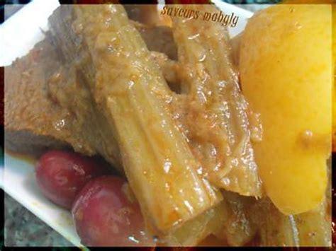 cuisine marocaine tajine recette de tajine de cardons marocain
