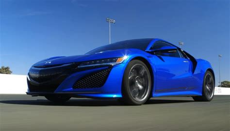 is 2017 acura nsx the slowest hypercar ever super cars