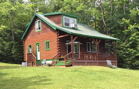 big cabin rentals by owner 3br 2ba log cabin on big indian lake albans maine