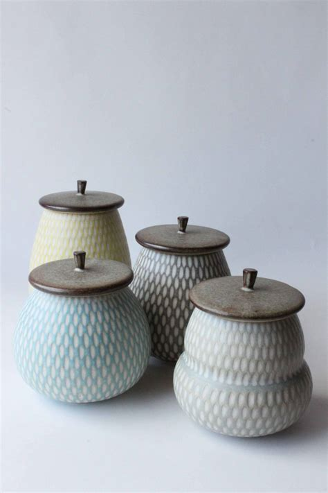 pottery ceramic jars anewdawnanewday lidded untitled boxes