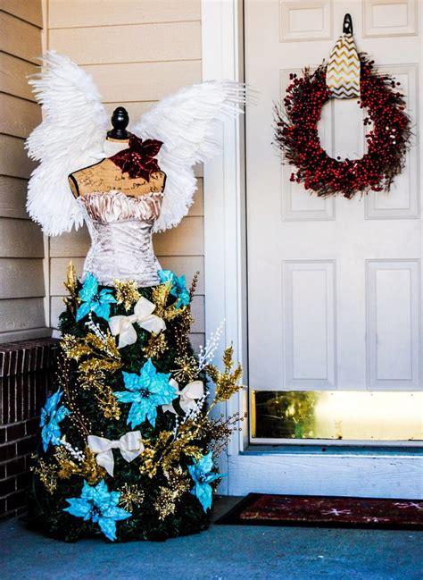 christmas tree dress form   housewife