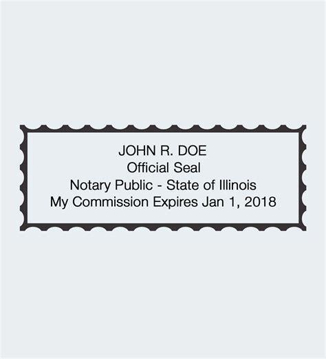 illinois notary seals nna