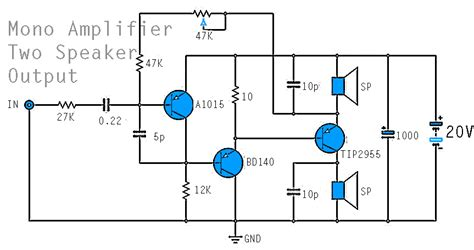 mono power amplifier   bd tip